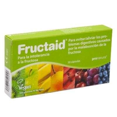 Fructaid 30 capsulas alergia fructosa