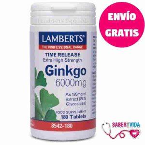 Ginkgo Biloba 6000 Mg