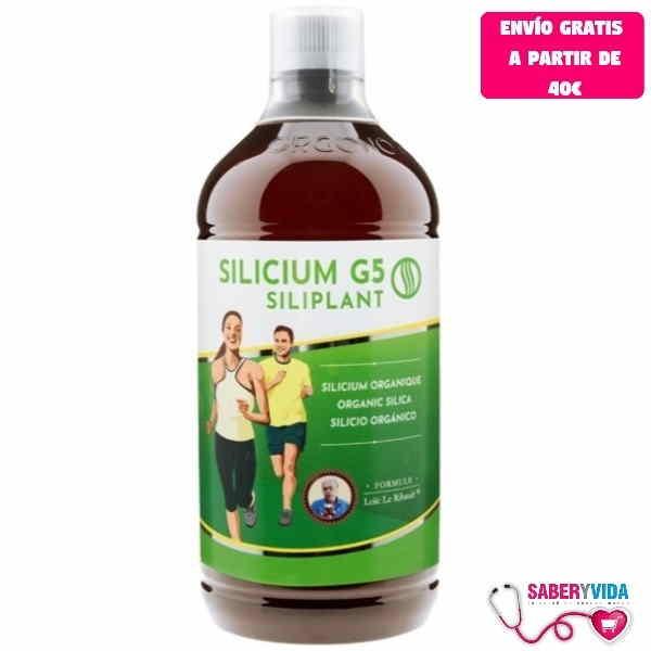 Botella Silicium g5 siliplant