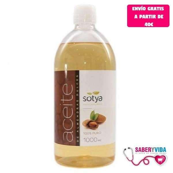 Aceite de Almendras Dulces Sotya 1L