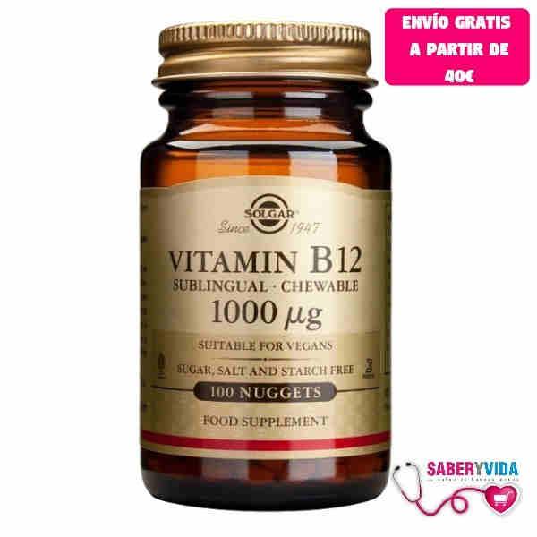 Vitamina B12 de Solgar