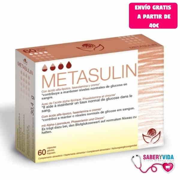 Metasulin Bioserum 60 cápsulas