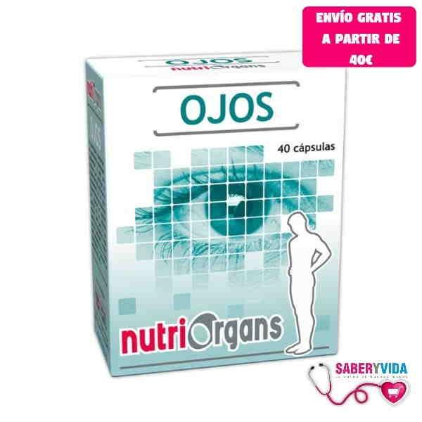 Nutriorgans Ojos Tongil 40 cápsulas