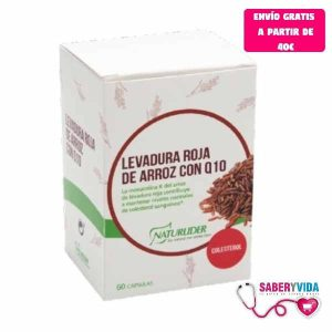 Levadura Arroz Rojo + Q10 Naturlider