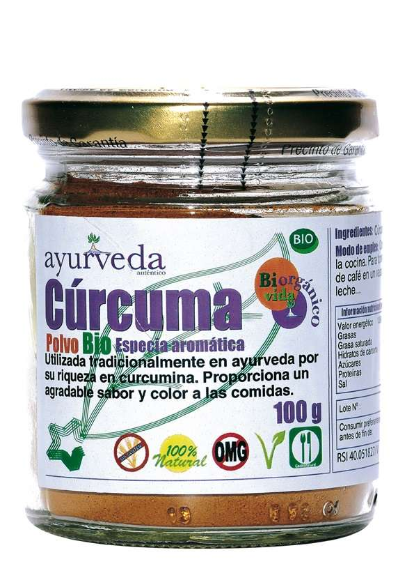 CURCUMA (AZAFRAN HINDU) 100 gr