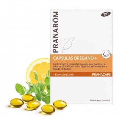 Orégano + Esencia de limón BIO 30-PRANAROM