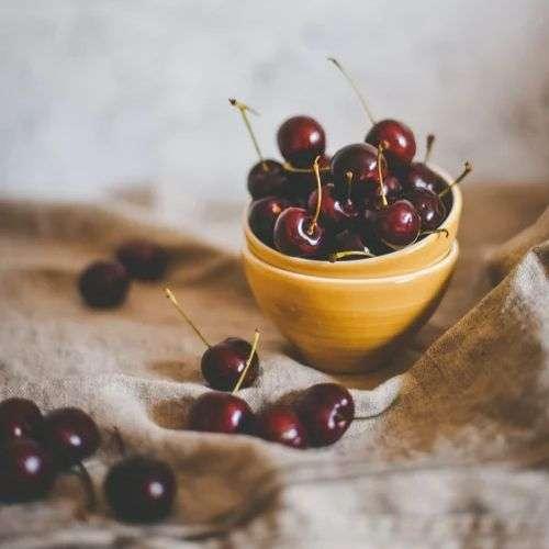 calorías-cerezas