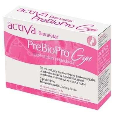 Activa bienestar prebiopro gyn 30