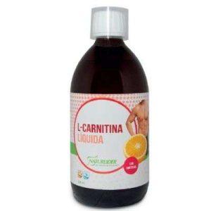 Botella l-carnitina liquida con sinefrina