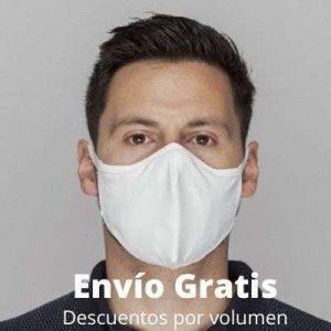 comprar mascarilla que inactiva coronavirus -GAMMA HEALTH blanca envío gratis