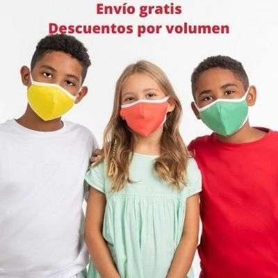 mascarilla desactiva covid 19 para niños