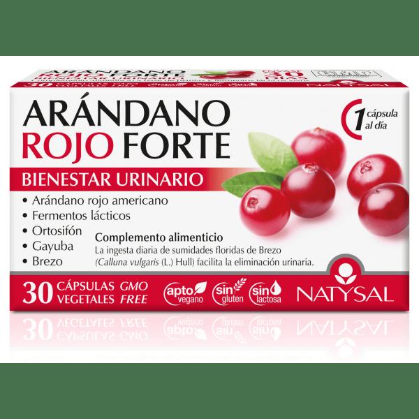 Arandano Rojo Forte 30 cápsulas- Natysal